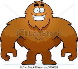Bigfoot clipart cartoon