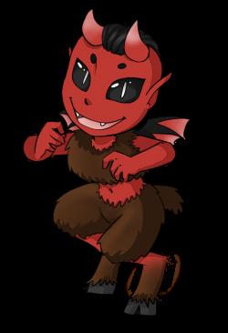 Devil clipart cartoon