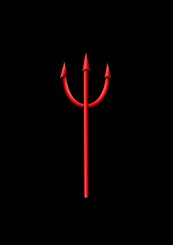 Devil clipart trident