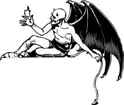 Satanism clipart vector