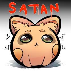 Satan clipart adorable