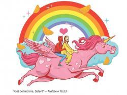 Satan clipart atheist