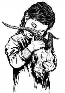 Drawn illuminati satanic