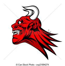 Satan clipart logo