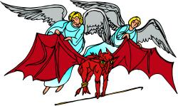 Satanic clipart protection