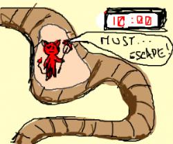 Satan clipart python
