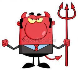 Satanic clipart trident
