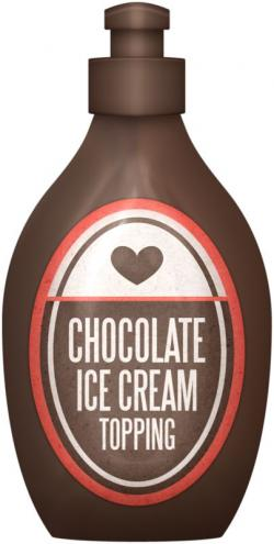 Syrup clipart chocolate syrup