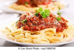 Sauce clipart plate spaghetti