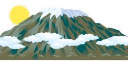 Savannah clipart kilimanjaro