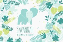 Savannah clipart view