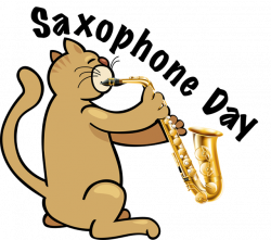 Saxophone clipart day