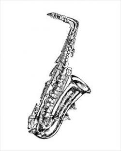 Saxophone clipart sax