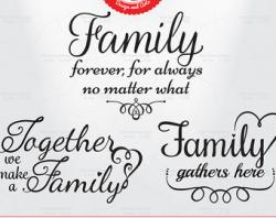 Saying clipart family quotes