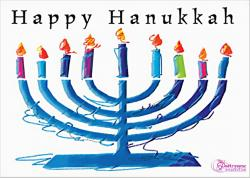 Saying clipart hanukkah