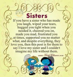 Saying clipart sister brother