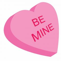 Saying clipart valentine candy