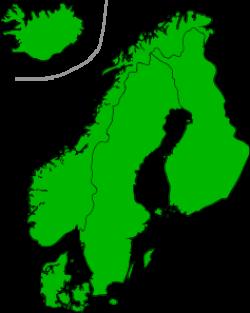 Scandinavia clipart