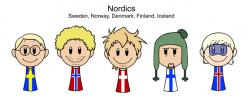 Scandinavia clipart hat