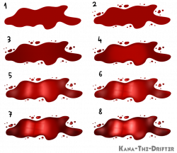 Scar clipart blood