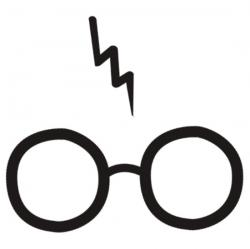 Spectacles clipart harry potter glass