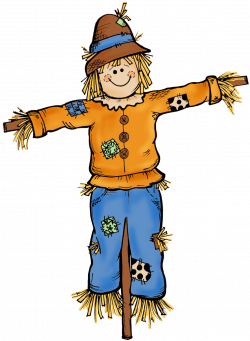 Small clipart scarecrow