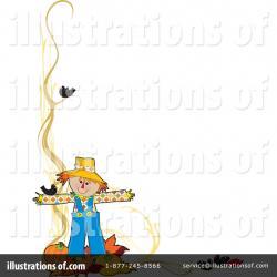 Scarecrow clipart border