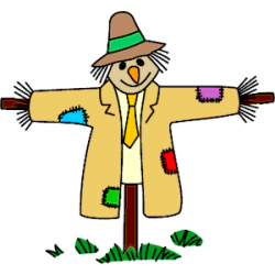 Scarecrow clipart field clipart