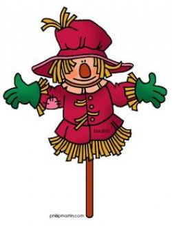 Scarecrow clipart free fall