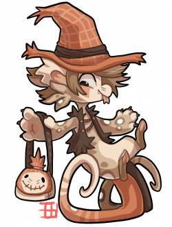 Scarecrow clipart silly