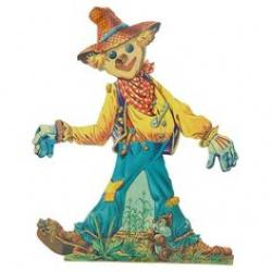 Scarecrow clipart vintage