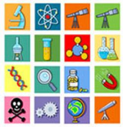 Elements clipart science symbol