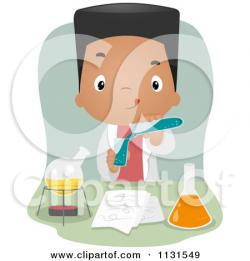 Science clipart african american