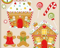 Gingerbread clipart town