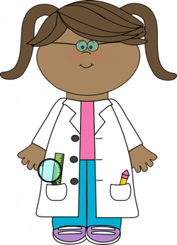 Science clipart little scientist