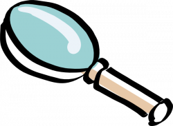 Lens clipart magnifying glass