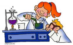 Scientist clipart materials and method