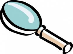 Overview clipart magnifying glass