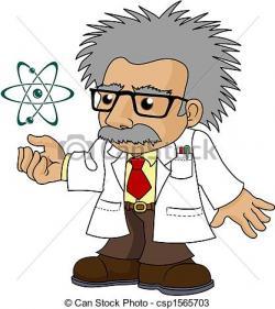 Science clipart professor