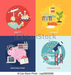 Science clipart research design