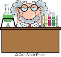 Laboratory clipart mad scientist