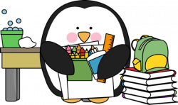 Scientist clipart penguin