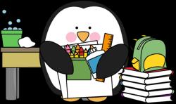 Scientist clipart penguin