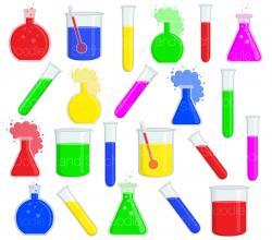 Scientist clipart science test