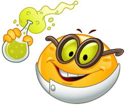 Scientist clipart smiley