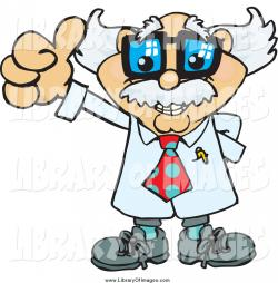 Scientist clipart thumbs up