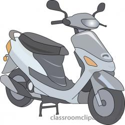 Scooter clipart motor scooter