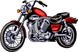 Biker clipart vintage motorcycle