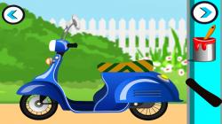 Scooter clipart scooty