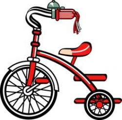 Tricycle clipart toy